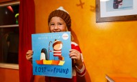 A big wow at the opening of the Wonderful World of Oliver Jeffers