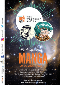 Manga & Graphics with Keith Sparrow - monthly