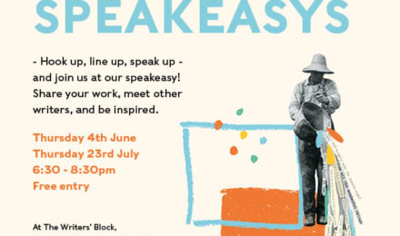 Speakeasy - an online sharing event